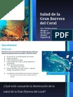 salud de la gran barrera del coral