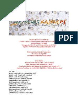 CD Audiophile List