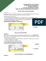 CLASE FINANZAS PUBLICAS APLICANDO MATEMATICAS FINANCIERA