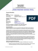 UT Dallas Syllabus for bps6310.0g1.11s taught by Tevfik Dalgic (tdalgic)