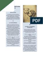 La Tentativa del León y el Éxito de su Empresa