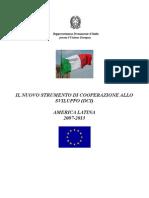 Cooperazione allo sviluppo - America Latina