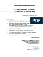 Clinical Effectiveness Bulletin 46, November 2010