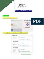 Handbook for ALOS System(1)