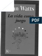La Vida Como Juego  -    Alan Watts
