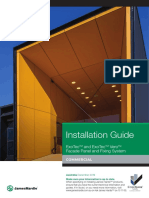 ExoTec and ExoTec Vero Facade Panel Install Guide Dec 2019 Rev 01