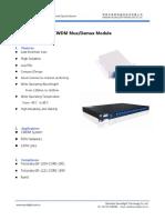 CWDM Mux&Demux Module