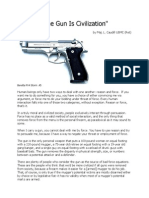 The Gun is Civilization - Caudill