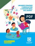 Lineamiento P Educacion Inicial 2019