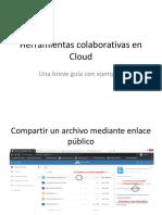 Herramientas colaborativas en Cloud