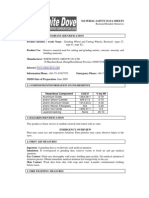 MATERIAL SAFETY DATA SHEETS WD
