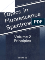 Topics in Fluorescence Spectroscopy Vol. 2 Principles