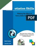 NegotiationSkills eBook