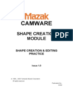 CAMWARE Solid Shape Creation & Edit Functions -E