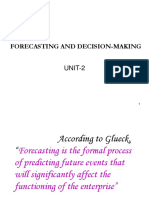 FORECASTING AND DECISION-MAKING.ppt