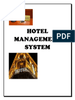 HOTEL MANAGEMENT PRO yo
