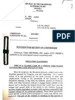 GMA's SC Petition for Review on Certiorari (January 20, 2020)