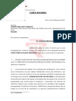 CARTA NOTARIAL -SOLICITO DEVOLUCIÓN DE DINERO. CINTIA PATRICIA SOLANO ARREATEGUI.docx