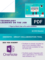 7 Tips to Work Like a Pro with OneNote