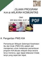 Materi Kuliah Prinsip Pengelolaan Program KIA