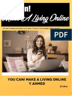 You Can!Make a Living Online