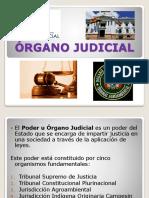 ÓRGANO JUDICIAL DIAPOSITIVAS