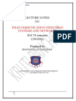 Lecture notes_ch5_telephone network.doc