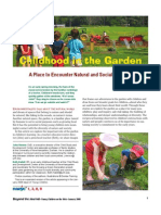 Childhood in the Garden, A Place to Encounter Natural and Social Diversity