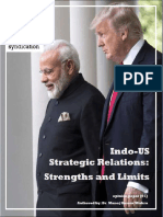 OPINION PAPER [01] Indo-US Strategic Relations -- Strengths and Limits (Compressed)