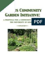 community garden at the university of georgia