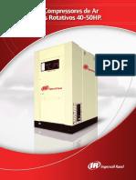 Série SSR-Compressores de Ar de Parafusos Rotativos 40-50HP