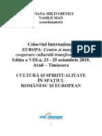 Colocviu Europa - Arad 2019