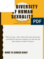 THE DIVERSITY OF HUMAN SEXUALITY
