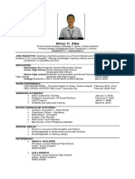 Letter-and-Resume sample