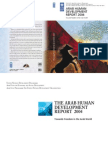 Arab Humjan Development Report UNITED NATIONS 2004