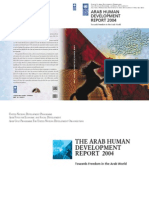 Arab Humjan Development Report UNITED NATIONS 2004