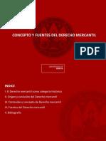 Tema 1. Concepto y Fuentes Del Derecho Mercantil