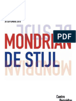 Exposition Mondrian/De Stijl, Centre Pompidou, Paris