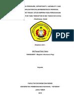 PENGARUH PRESSURE,OPPORTUNITY, CAPABILITY, DAN RATIONALIZATION DALAM MENDETEKSI FINANCIAL STATEMENT FRAUD