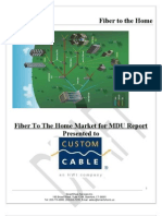 FTTH Market Report for MDU