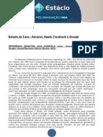 Consultoria ESTUDO DE CASO