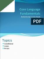 Core Language Conditionals