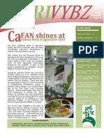 CaFAN Newsletter 10 Agrivybz