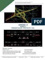 UNIDAD 8 PARTE 2 PRESENTACION PROYECTO VIAL
