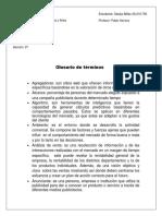 GLOSARIO DE TÉRMINOS MERCADEO