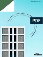 Ebook Projeto, execução e manutenção de edificações sistemas construtivos e engenharia diagnóstica