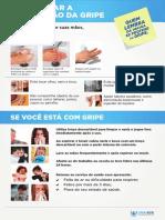 Cartaz - Orientação para o Paciente lavar as mãos
