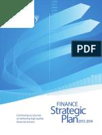Finance Strategic Plan 2013