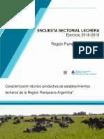 Encuesta Lechera Inta 2018-2019