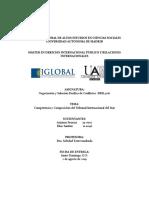 Tribunal Internacional del Derecho del Mar - Trabajo Escrito